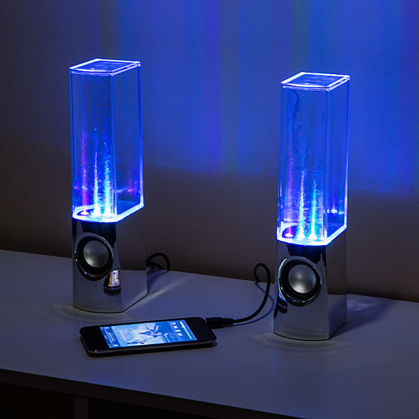 lightshow fountain speakers